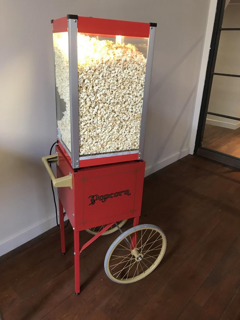 popcorn truck hire