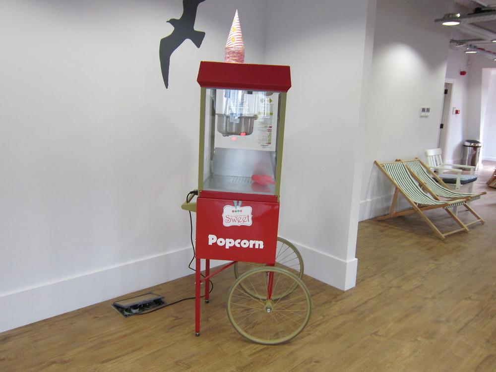 Popcorn hire ICC Birmingham