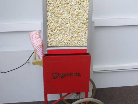 Popcorn hire Manchester Central Convention Complex