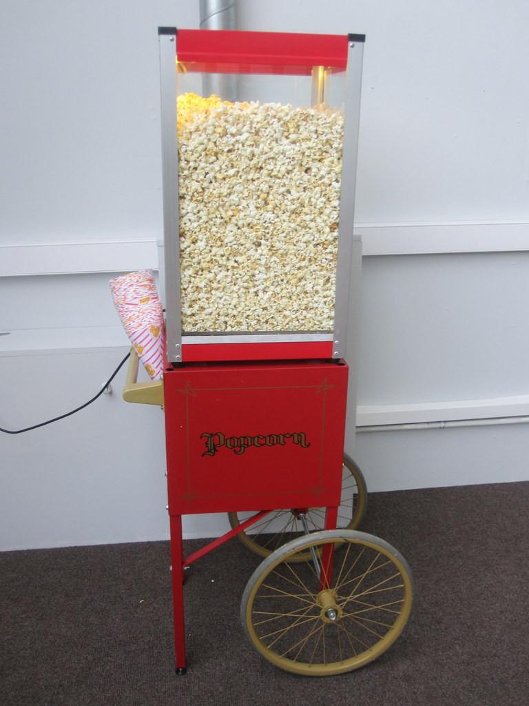 popcorn warmer hire kent