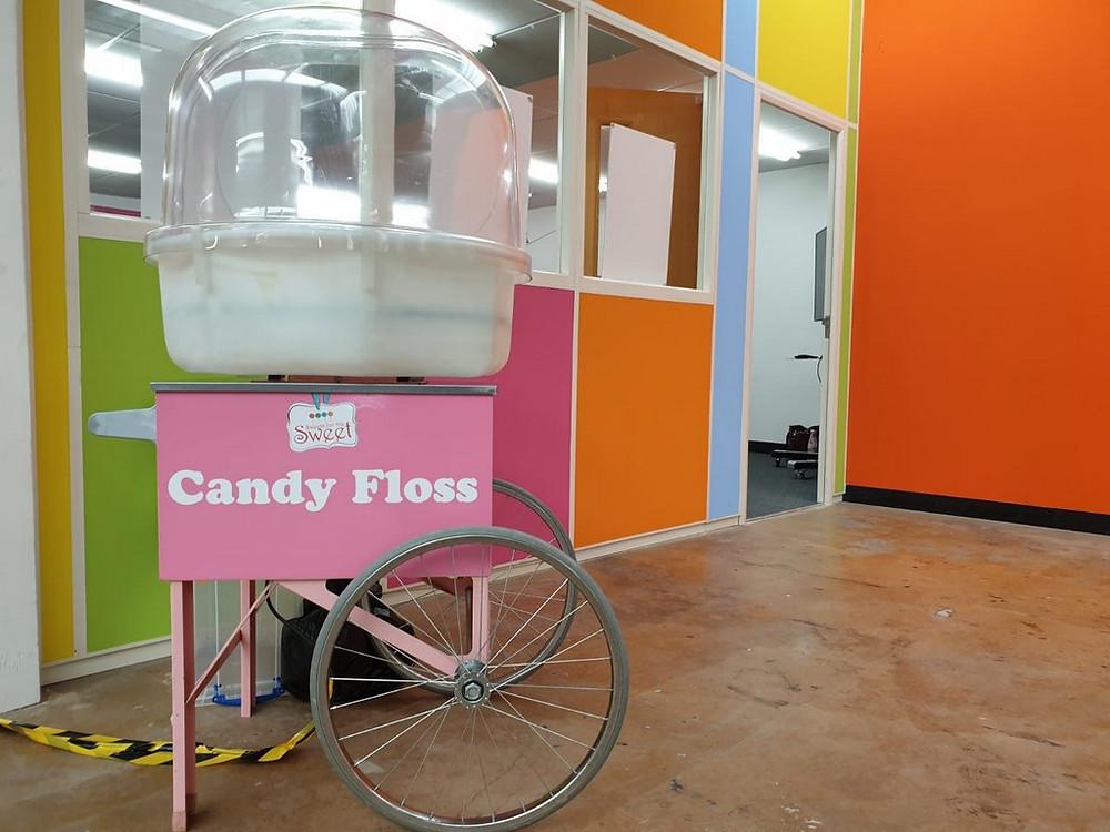 candy floss cart hire birmingham