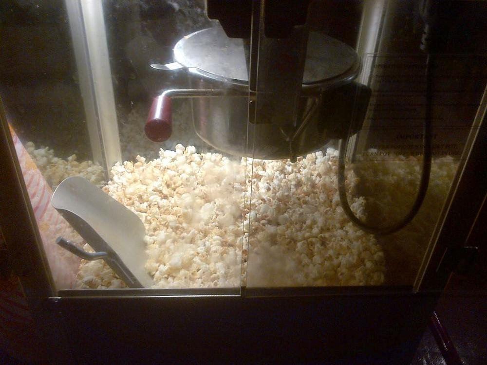 popcorn machine for hire