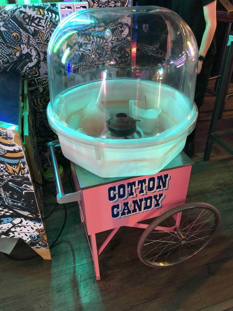 candy floss cart rent london