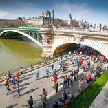 Seine running