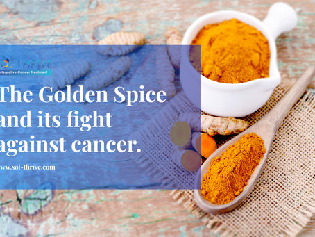 The Golden Spice and its fight against cancer.