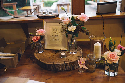 Wedding Signing Table