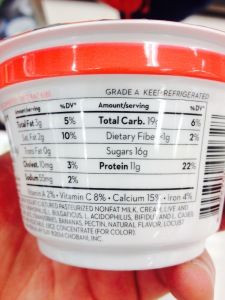 chobani greek yogurt for the hcg diet