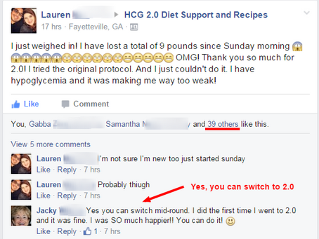 Not Everyone Loses 9lbs in  5 Days on the HCG Diet, but Lauren Did