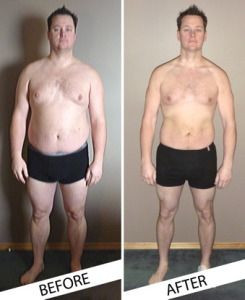 Before and After Dr. Oz HCG diet pics