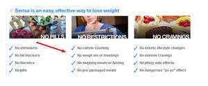 Sensa weight loss versus the HCG diet