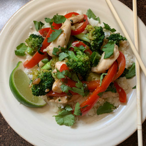 HCG 2.0 Recipe Ginger Lime Stir-Fry