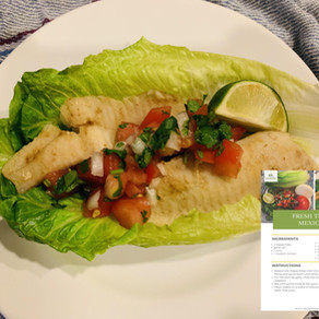 HCG 2.0 Recipe – Fresh Tilapia Mexicano