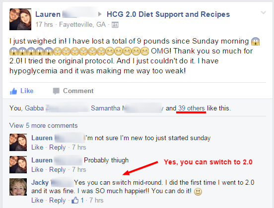 Lost 9 lbs in 5 days on hcg diet