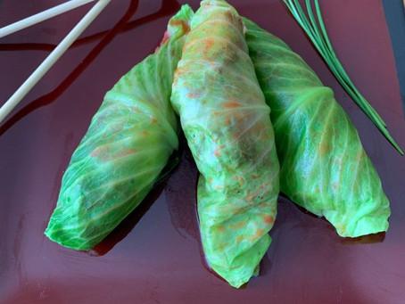HCG 2.0 Recipe – Thai Stuffed Cabbage Rolls