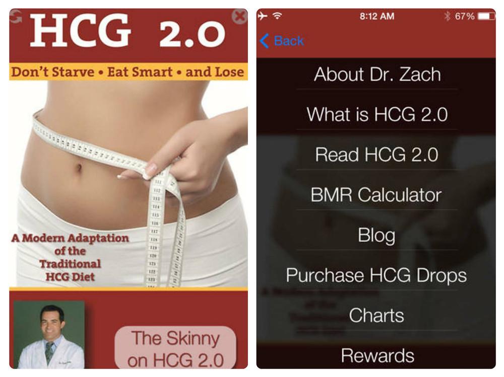 free hcg diet mobile app