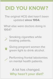 New and Improved hcg diet