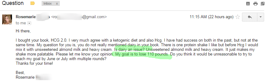 Dairy on the HCG Diet