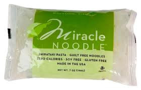 Miracle Noodles and Soluble Fiber; Compatible with the HCG Diet?