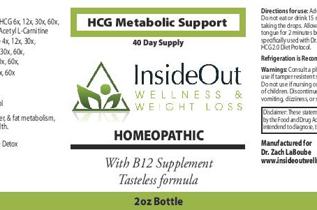 New and Improved Alcohol Free HCG drops