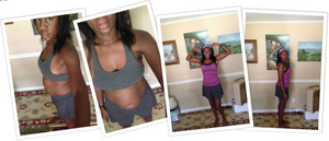 Tanya hcg diet before and after