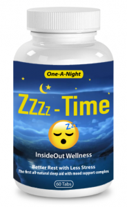 All Natural Sleep Aid: With 5-HTP and Mood Support