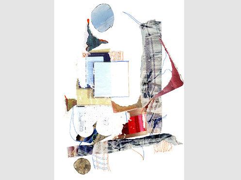 Collage Art - 20 (print)