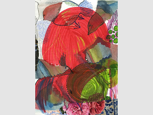 Collage Art - 50 (print)