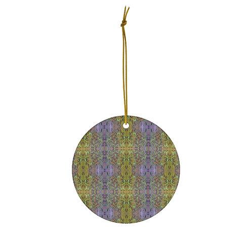 Lavender Farm Ornament