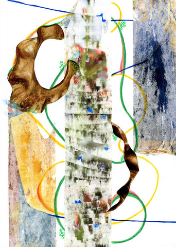 Abstract Collage Art 47