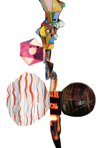 Abstract Collage Art Print 19