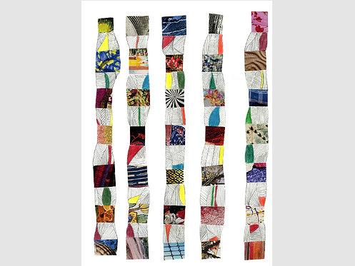 Collage Art - 9 (print)