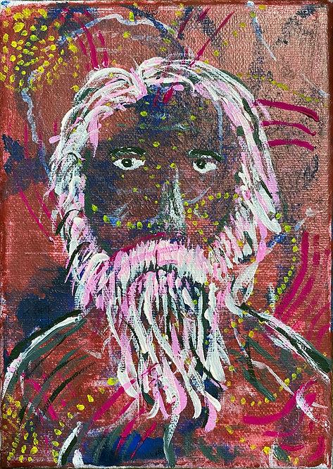 Rabindranath Tagore Portrait - 4