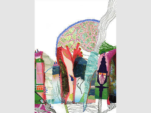 Collage Art - 48 (print)