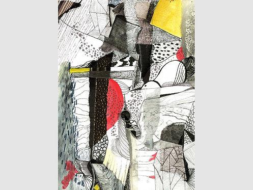 Collage Art - 63 (print)