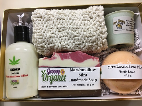 Gift Box -Marshmallow Mint