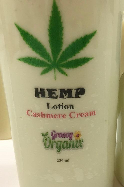 Hemp Lotion-8oz Cashmere Cream