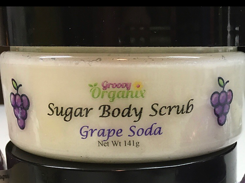 Sugar Body Scrub-Grape Soda