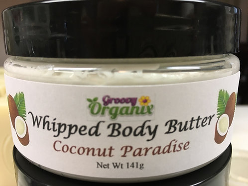 Whipped Body Butter-Coconut Paradise