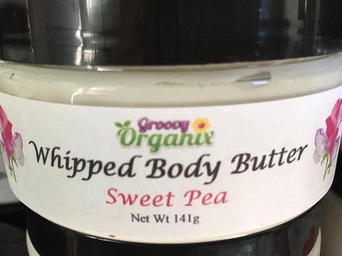 Whipped Body Butter- Sweet Pea