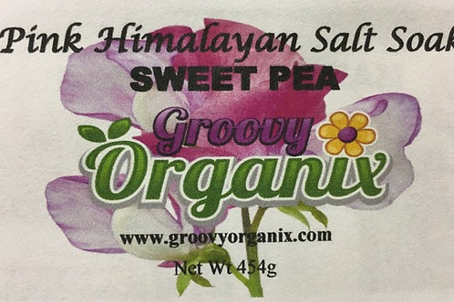 Salt Soak -Sweet Pea