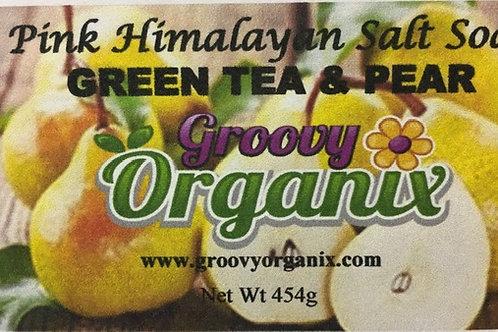 Salt Soak -Green Tea & Pear