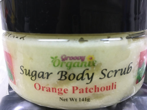 Sugar Body Scrub- Orange Patchouli