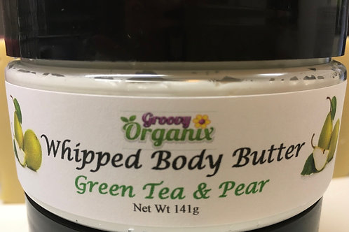 Whipped Body Butter- Green Tea & Pear