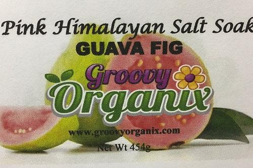 Salt Soak -Guava Fig