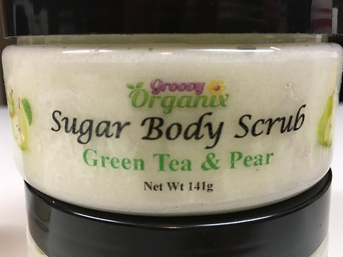 Sugar Body Scrub-Green Tea & Pear