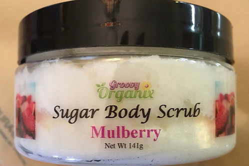 Mulberry sugar scrub