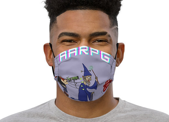 AARPG Podcast Premium face mask