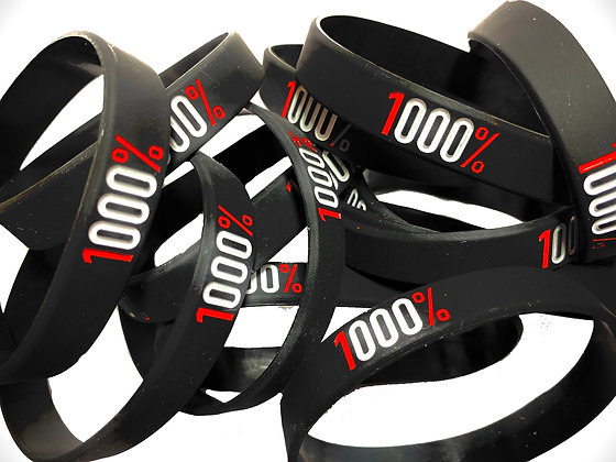 1000% Wristbands (2 Pack)
