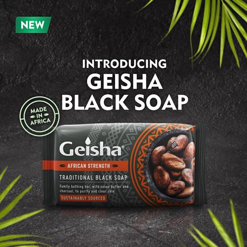 Geish Black Soap