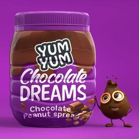 Yum Yum Chocolate Dreams Peanut Butter